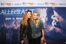 Ilinca Vandici si Cristina Cioran avanpremiera Allegiant IMAX Freeman Entertainment