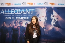 Nicole Cherry avanpremiera Allegiant IMAX Freeman Entertainment