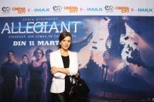 Simona Taranu avanpremiera Allegiant IMAX Freeman Entertainment
